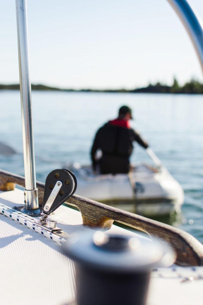 Vivir día a día en un barco
